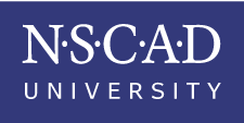 NSCAD logo, purple