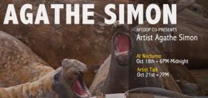 Artist Talk with Agathe Simon