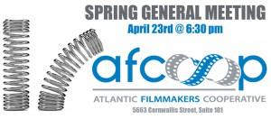 Spring General Meeting – April 23rd