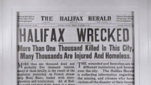 CALL: Halifax Explosion 100th Anniversary Commissioning Project