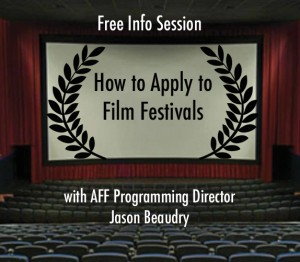How to Apply to Film Festivals – FREE INFO SESSION