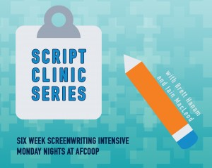 Registration Open for Script Clinic Series