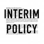 interim policy