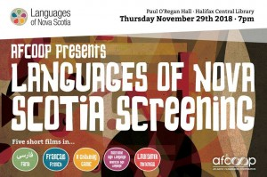 Languages of Nova Scotia Screening