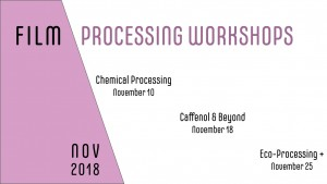 Film Processing Workshops