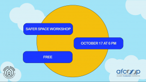 Safer Space Workshop