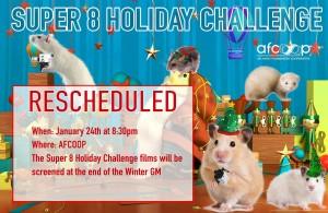 Super 8 Holiday Challenge