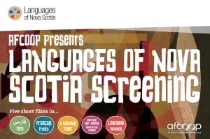 Languages of Nova Scotia Screening Tour
