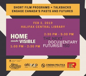 Home Made Visible & Documentary Futurism Screenings
