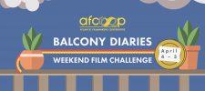 Balcony Diaries Weekend Film Challenge II