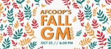 AFCOOP Fall General Meeting
