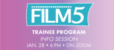 FILM 5 INFO SESSION